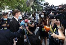 """Ximo Puig diu, després de l'homenatge a les víctimes, que és """"obligació"""" de les institucions mirar cap avant """"junts"""""""