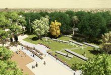 Coneix com serà la nova esplanada del Parc de l'Oest