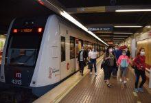 Metrovalencia investiga el desallotjament d'un passatger que no portava mascareta en el vagó