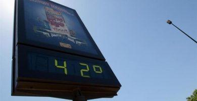 Xàtiva bate el récord de calor de 2020 en España con 42,2 grados