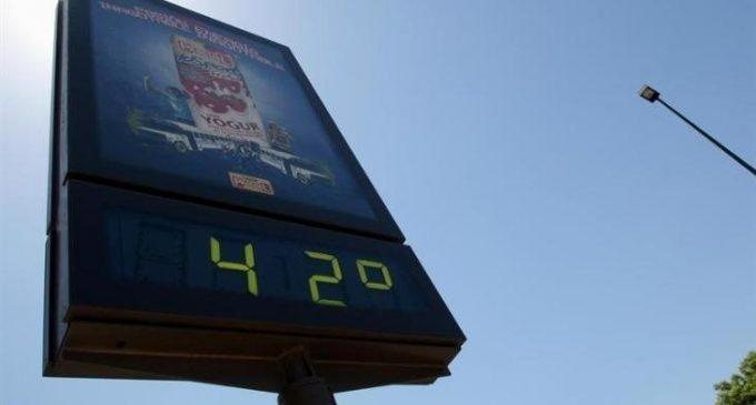 Xàtiva bat el rècord de calor de l'any a Espanya amb 42,2 graus
