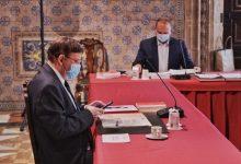 """Puig insisteix que l'ús de la mascareta """"no està en discussió"""" i que cadascun és responsable"""