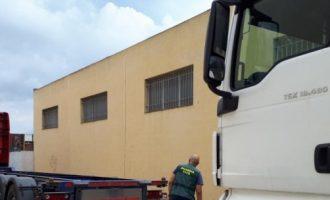 Dos detinguts per robar eines en camions aparcats en polígons de Xàtiva a València