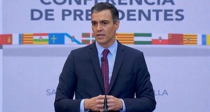 """Sánchez crida a """"anivellar la cohesió territorial"""" perquè no hi haja CCAA de primera i de segona"""