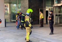 Desallotjada la Torre 3 de la Ciutat Administrativa 9 d'Octubre de València per un incendi
