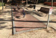 El barri d'Aiora comptarà amb una zona de jocs inclusius