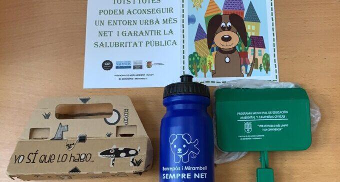 Bonrepòs i Mirambell inicia una campanya de sensibilització contra els excrements dels gossos a la via pública