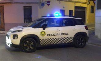 La Policía Local de Massamagrell salva la vida de un bebé de 17 meses por su rápida actuación