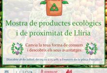 Llíria pretén fomentar el consum de productes ecològics i de proximitat