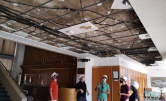Els treballs per a la renovació del sistema de climatització del Centre Cultural d'Almussafes avancen a bon ritme