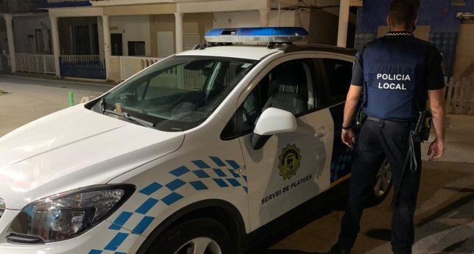 La Policia Local de Sueca extremarà la vigilància per a evitar les molèsties que pateix el barri d'Anguleros els caps de setmana