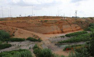 Comencen els treballs per a la construcció del nou pont a Torrent sobre el barranc de Xiva