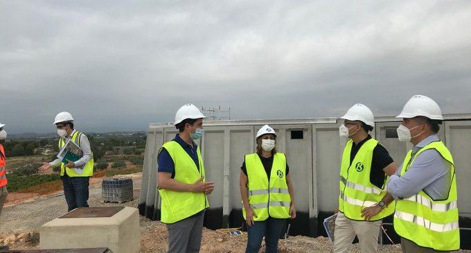 El Polígon de Carrasses comptarà amb un nou depòsit d'aigua potable