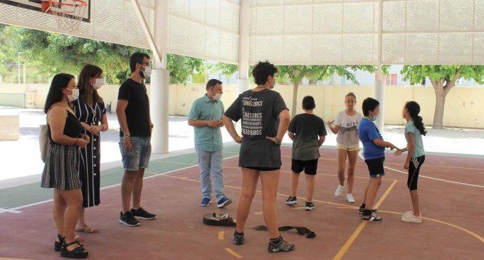 150 niños y jóvenes de Ontinyent ya disfrutan de la Escuela de Verano Municipal