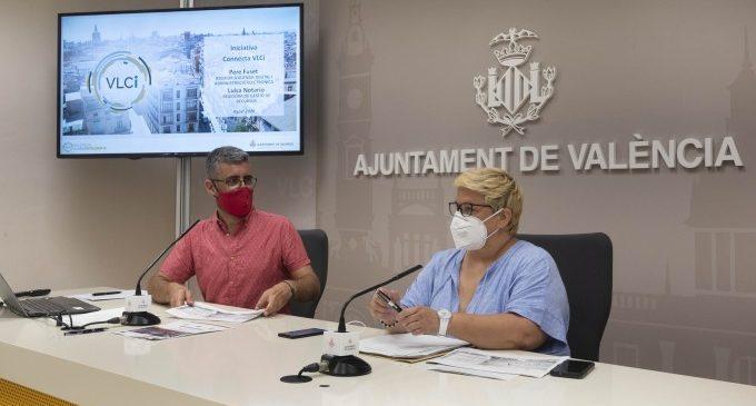 """València avança amb 'Connecta VLCi' en la transformació digital fent """"intel·ligents"""" 194 edificis de la ciutat"""