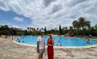 Set piscines municipals es troben obertes al públic «amb totes les mesures de seguretat»