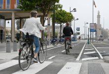 La mobilitat amb bicicleta es manté durant la pandèmia mentre baixen els desplaçaments amb cotxe a València