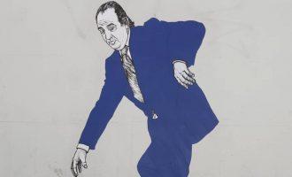 Los graffitis del rey Juan Carlos I se hacen virales en València