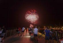 La playa de Gandia acogerá este sábado un nuevo espectáculo pirotécnico