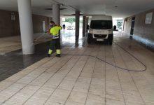 Torrent continua reforçant les tasques de neteja i desinfecció dels seus carrers per a fer front a la Covid-19