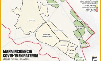 Augmenta la presència de COVID-19 a Paterna encara que la incidència continua sent baixa
