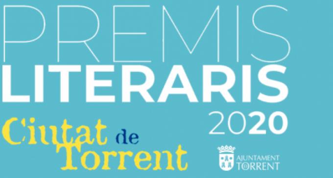 Els Premis Literaris Ciutat de Torrent busquen l'obra guanyadora per a l'edició de 2020