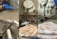 Alzira completa la restauració de dues peces del monestir de la Murta