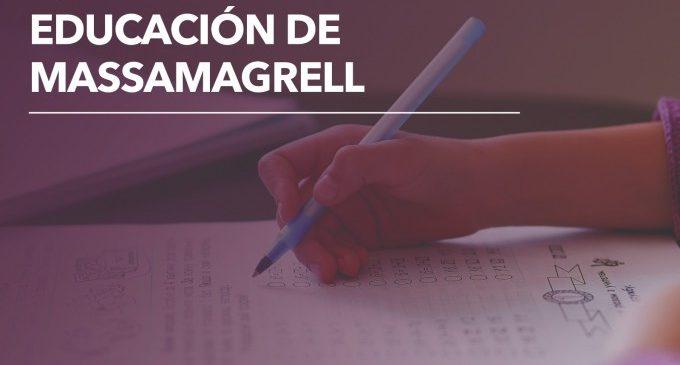 Massamagrell invertirà 60.000 euros en ajudes econòmiques per al curs escolar 2020-21