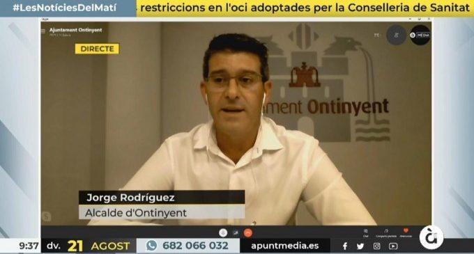 L'alcalde d'Ontinyent reclama que les ajudes del Govern d'Espanya no estiguen condicionades a la cessió dels superàvits