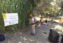 Las 24 personas contratadas para labores de prevención y limpieza contra incendios en Torrent avanzan a buen ritmo en El Vedat y barrancos