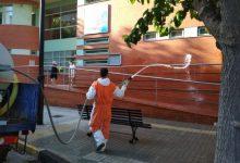 Ontinyent intensifica la neteja i desinfecció en carrers, edificis públics, parcs i jardins per previndre la Covid-19