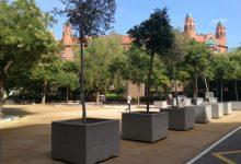 La plaça Pintor Segrelles, referent ecològic per al barri de Jesús