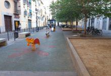 L'Ajuntament remodelarà i s'ampliarà la zona de jocs infantils del parc ubicat al Carrer Vinatea de Ciutat Vella