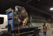 L'Ajuntament de València culmina este mes l'organització del trasllat dels monuments fallers a Fira València