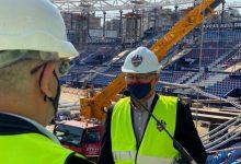 Ribó i el president del Levante UD signen el protocol per a la reforma de l'Estadi Ciutat de València