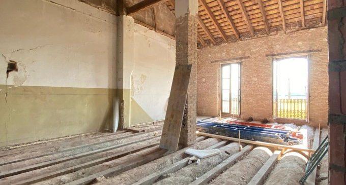 El Ayuntamiento de Cases de Bàrcena tendrá una cubierta vegetal ecológica