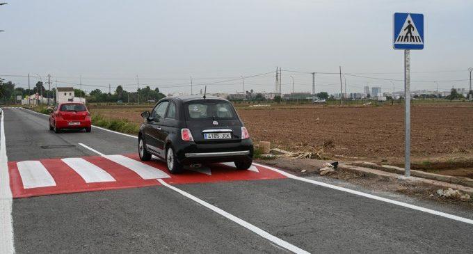 Movilidad Sostenible realiza mejoras para peatones en Carpesa y Benimàmet