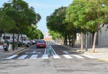 Mobilitat Sostenible executa treballs de calmat del trànsit a Beniferri