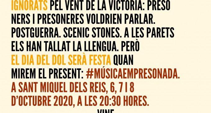 L'espectacle 'Música empresonada' torna a Sant Miquel dels Reis