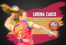 Lorena Zarco, convocada per la Selecció Nacional absoluta