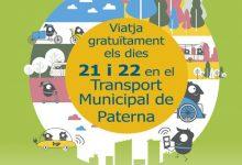 Paterna se suma a la Semana Europea de la Movilidad con transporte municipal gratuito los días 21 y 22 de septiembre