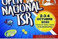 Almussafes acull del 2 al 4 d'octubre el seu XXIIOpenNacional de Tennis en Cadira de Rodes