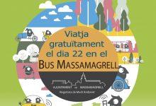 El bus de Massamagrell serà gratis el dimarts, 22 de setembre, amb motiu de la Setmana Europea de la Mobilitat