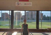 Alba Justícia, del Club de Gimnàstica Rítmica l'Almara de Burjassot, seleccionada per al conjunt júnior de l'equip nacional