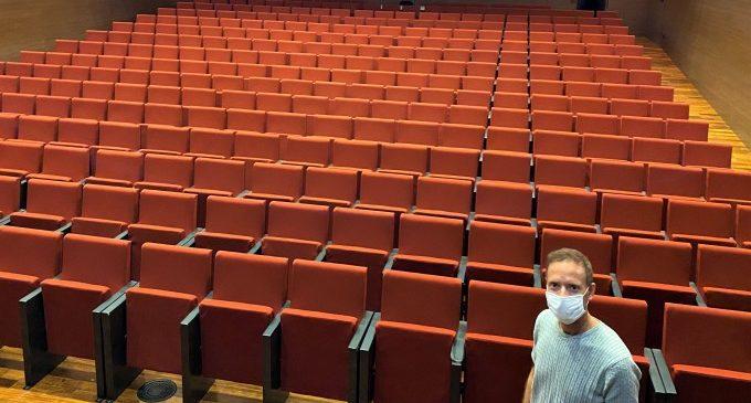 Ontinyent reobri el Teatre Echegaray i la Sala Gomis amb aforament reduït i mesures de seguretat