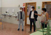 Jorge Rodríguez visita en l'inici de curs les obres realitzades al CEE Vall Blanca