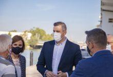 Cullera trasllada a la nova directora general de Ports les seues reivindicacions