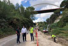 La Conselleria d'Agricultura inicia la reparació del camí del Carril-Pont de la Costa afectat per la DANA