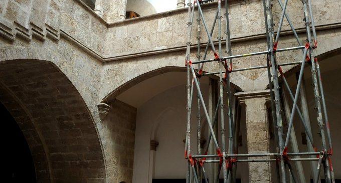 Les obres del Palau de l'Almirall comptaran amb una direcció científica arqueològica per a garantir la preservació del patrimoni