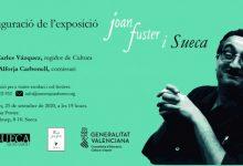 Inauguració de l'exposició 'Joan Fuster i Sueca'